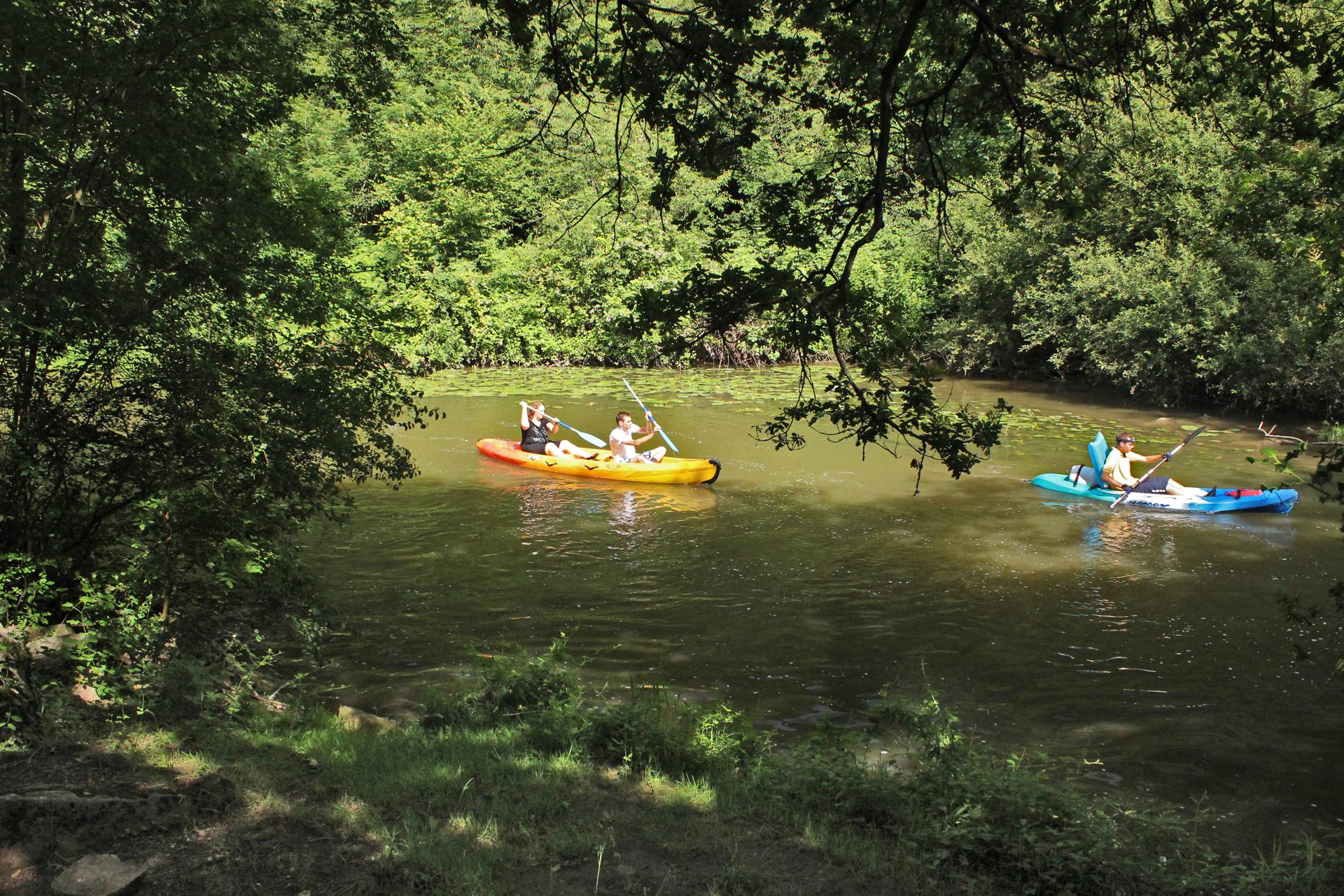 Kayak à St-Céneri-le-Gérei