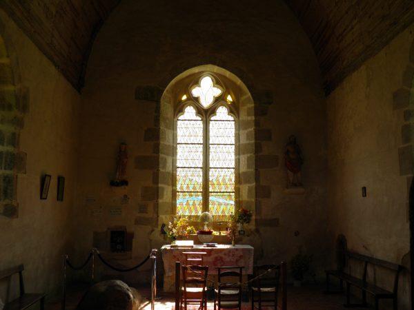 La chapelle de Saint-Céneri