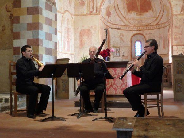 Concert dans l'église de Saint-Céneri-le-Gerei