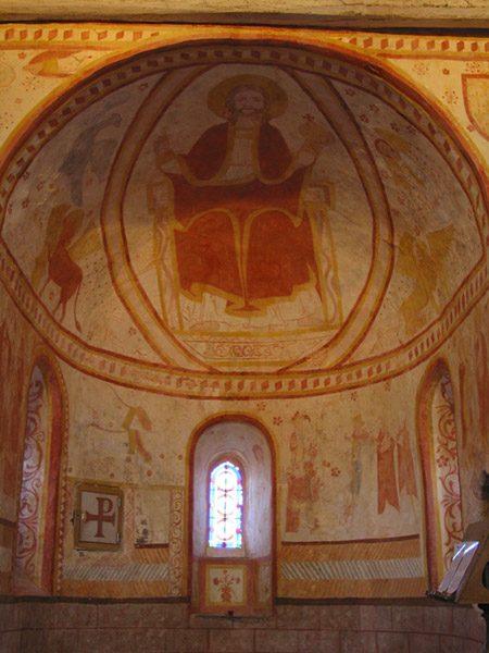 Intérieur de l'église de Saint-Céneri-le-Gerei