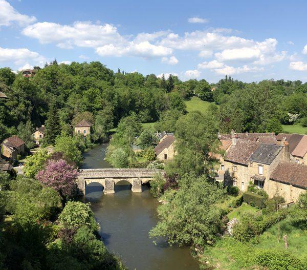 Le pont de Saint-Céneri-le-Gérei