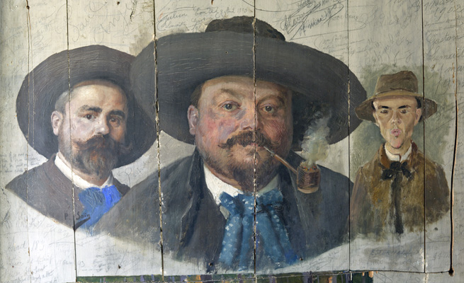 Les peintres de Saint Céneri