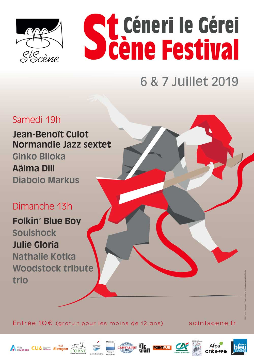affiche St Scène 2019